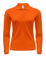 JHK LADY REGULAR LS POLO жіноче поло orange