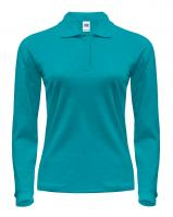 JHK LADY REGULAR LS POLO жіноче поло lightblue